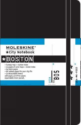 City Notebook Boston - Moleskine City Notebooks (Notebook / blank book)