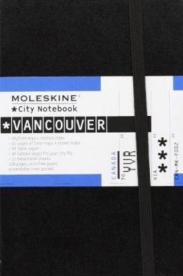 City Notebook: Vancouver - Moleskine City Notebooks (Notebook / blank book)