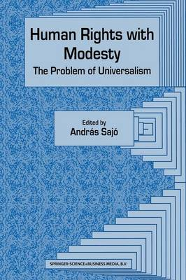 Human Rights with Modesty: The Problem of Universalism (Paperback)