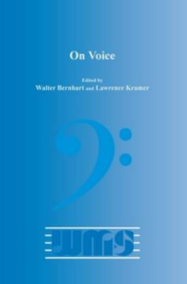 On Voice - Word & Music Studies 13 (Paperback)