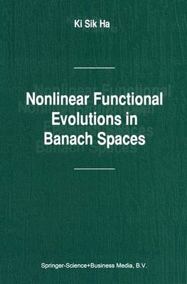 Nonlinear Functional Evolutions in Banach Spaces (Paperback)