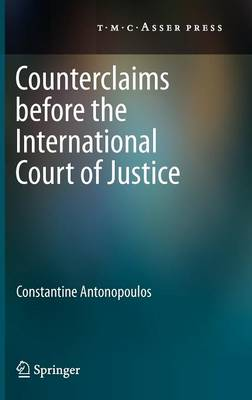 Counterclaims Before the International Court of Justice (Hardback)