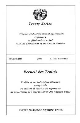 Treaty Series: Volume 2554 (Paperback)
