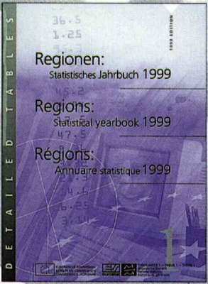 Regions 1999: Statistical Yearbook (Mixed media product)
