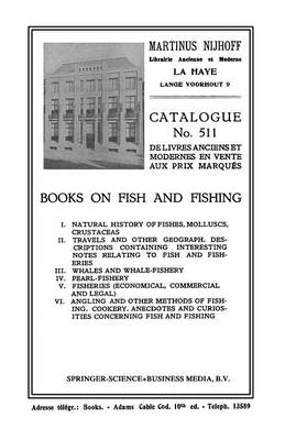 Books on Fish and Fishing (Paperback)
