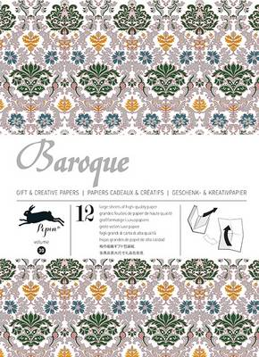 Baroque: Gift & Creative Paper Book Vol. 30 (Paperback)