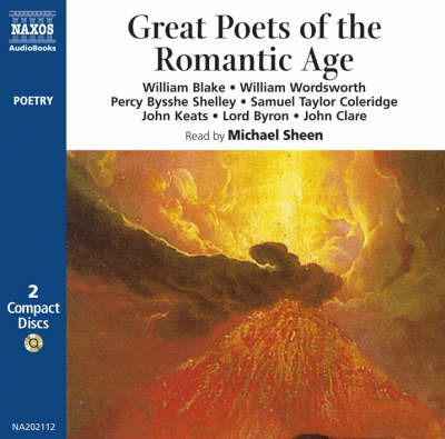 Great Poets of the Romantic Age - Poetry S. (CD-Audio)