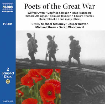 Poets of the Great War: Wilfred Owen, Siegfried Sassoon, etc. - Poetry S. (CD-Audio)