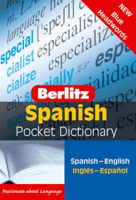 Berlitz: Spanish Pocket Dictionary - Berlitz Pocket Dictionary (Paperback)