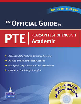 Official Guide to Pearson Test of English Academic (with CD-ROM) (Mixed media product)