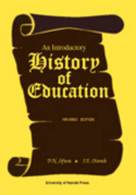 An Introductory History of Education (Paperback)