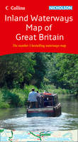 Collins/Nicholson Inland Waterways Map of Great Britain