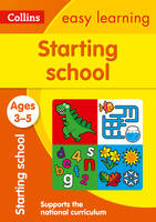 Collins Easy Learning Preschool: Starting School Ages 3-5