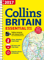 Collins Essential Road Atlas Britain 2017