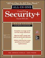 Comptia Security+ All-in-One Exam Guide (Exam SY0-401)