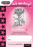 Read Write Inc. Phonics: Get Writing!: Pink 3 Pack of 10