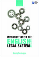 Introduction to the English Legal System 2016-17