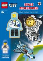 LEGO City: Space Adventure Activity Book with Minifigure