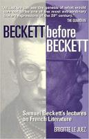Beckett Before Beckett