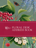 RHS Floral Desk Address Book