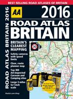 AA Road Atlas Britain 2016