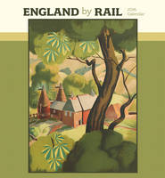 England by Rail 2016 Wall Calendar