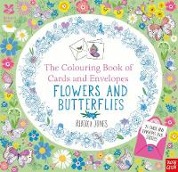 The National Trust: Colouring Cards and Envelopes: Flowers and Butterflies