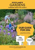 Scotland's Gardens Guidebook 2016