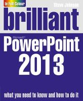 Brilliant PowerPoint 2013