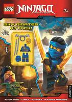 LEGO Ninjago Sky Pirates Attack! (Activity Book with Minifigure)