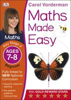 Maths Made Easy Ages 7-8 Key Stage 2 Beginner: Ages 7-8, Key Stage 2 beginner