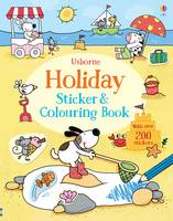 Holiday Sticker and Colouring Book