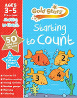 Gold Stars Starting to Count Ages 3-5 Pre-School