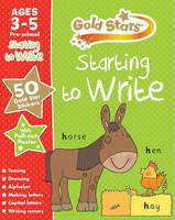Gold Stars Starting to Write Ages 3-5 Pre-School