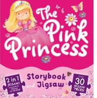 The Pink Princess Book and Jigsaw Pack