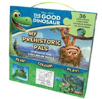 Disney the Good Dinosaur Storybook and 2-in-1 Jigsaw Puzzle Carry-Along Box