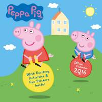 The Official Peppa Pig 2016 Square Calendar