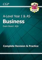 New A-Level Business: AQA Year 1 & AS Complete Revision & Practice