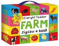 Bright Toddler Jigsaw and Book Set: Farm