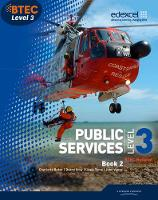 BTEC Level 3 National Public Services Student Book 2: 2