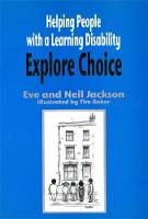 Helping People with a Learning Disability Explore Choice
